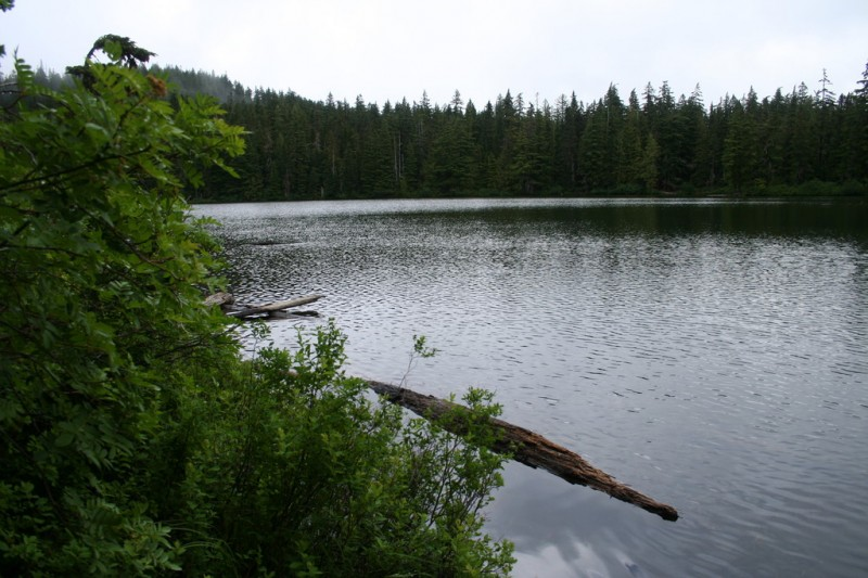 First view of Shellrock Lake