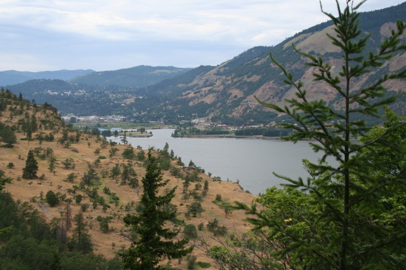 View of the Columbia River Looking West