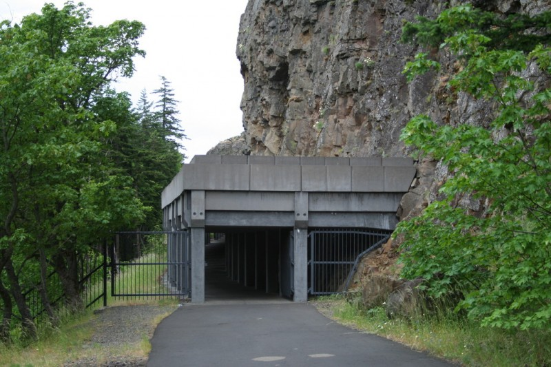 Concrete Structure Before the First Tunnel