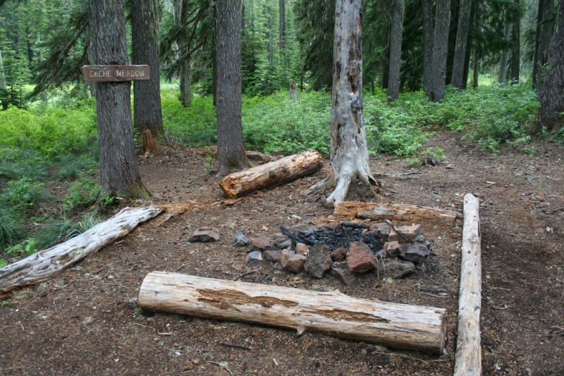 Campground at Cache Meadow
