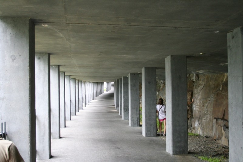 Inside the Concrete Structure