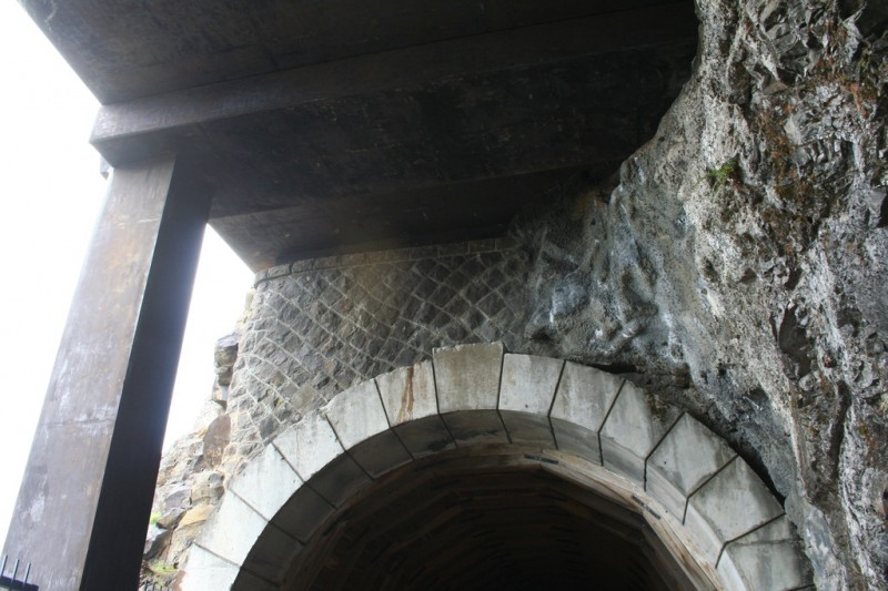 Arch at the Entrance of the Second Tunnel