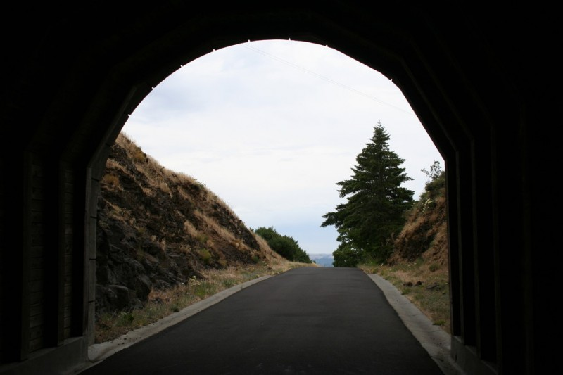View Out the End of Second Tunnel