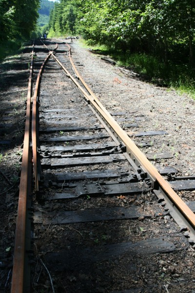 A railroad switch