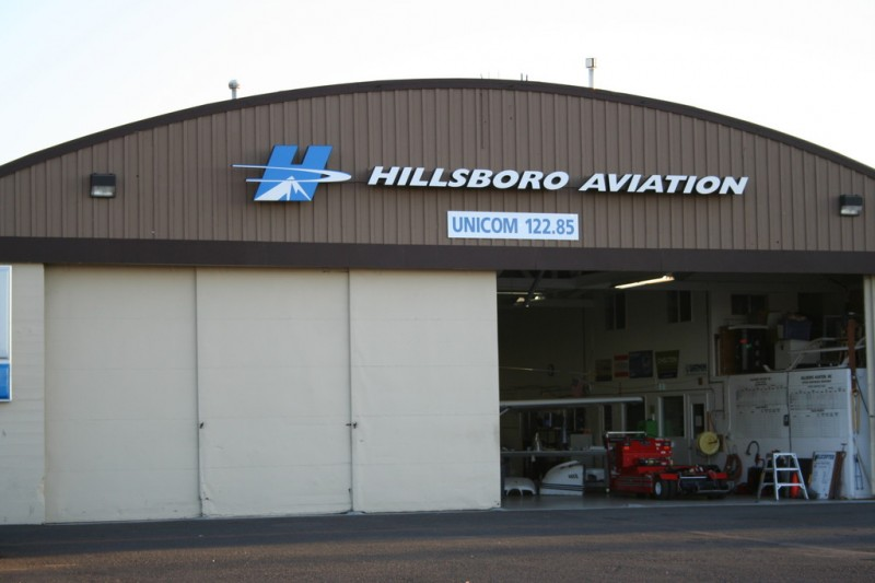 Hillsboro Aviation Hangar