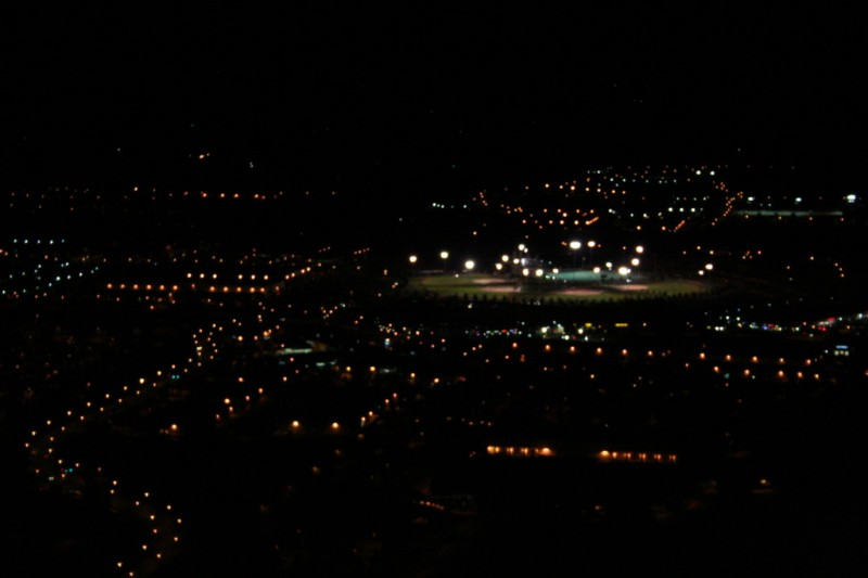 Gordon Faber Recreation Complex at Night