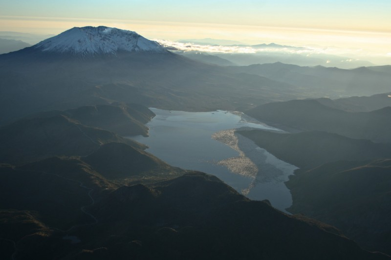 Mt. St. Helens and Spirit Lake