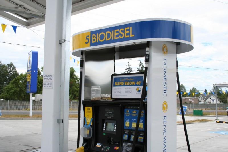 Three Biodiesel Blends on the Biodiesel Pumps