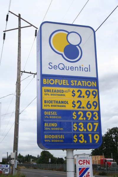 SeQuential Biofueling Station Price List