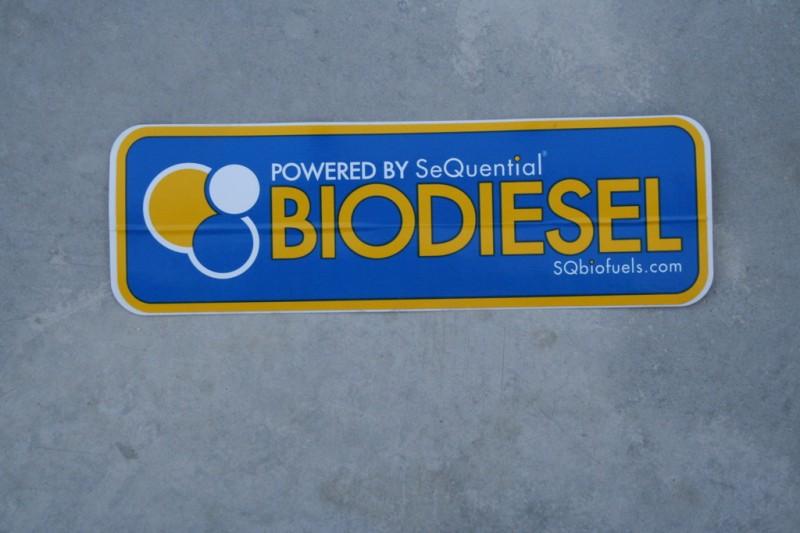 SeQuential Biofuels Bumper Sticker