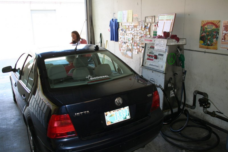My Car and the Biodiesel Pump