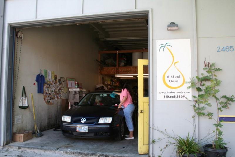 Outside of Biofuel Oasis