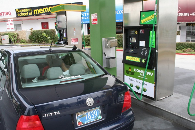 My Car by the Conserv Fuel Biodiesel Pump