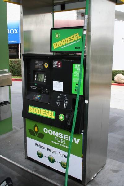 B99 Pump at Conserv Fuel