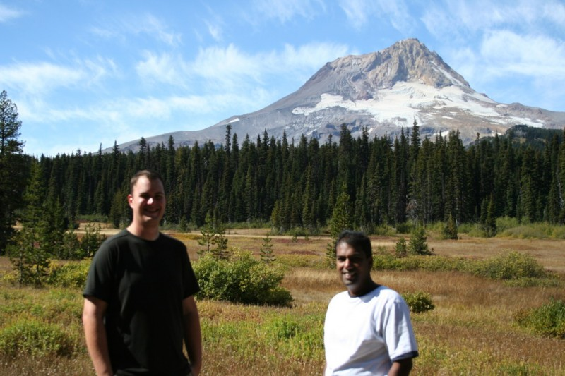 Sam and I and Mt Hood