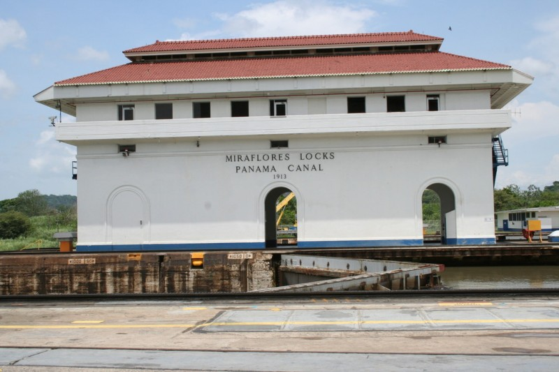 Miraflores Locks Building