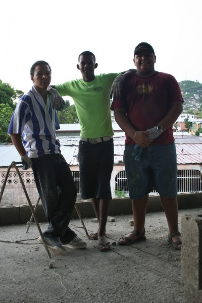 Three of the Panamanian Guys