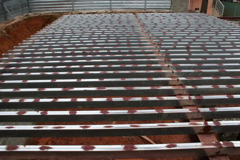 Purlins from Above