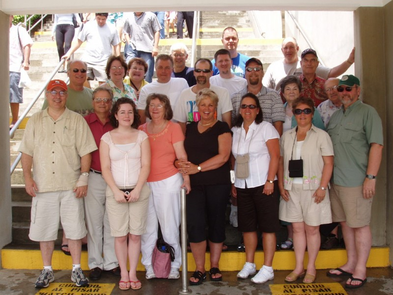 The Team at the Panama Canal