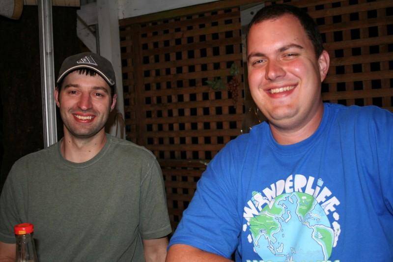 Shaun and I