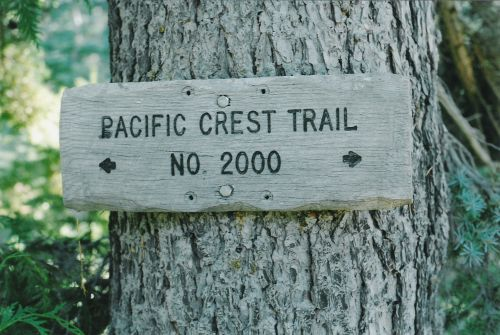 Pacific Crest Trail No. 2000
