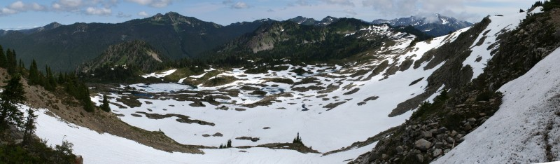 Seven Lakes Basin Panorama