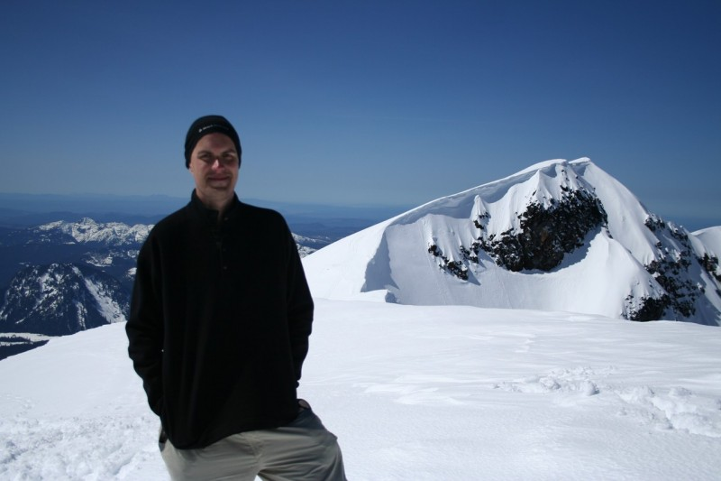 david and the southwestern part of the rim of mt st helens